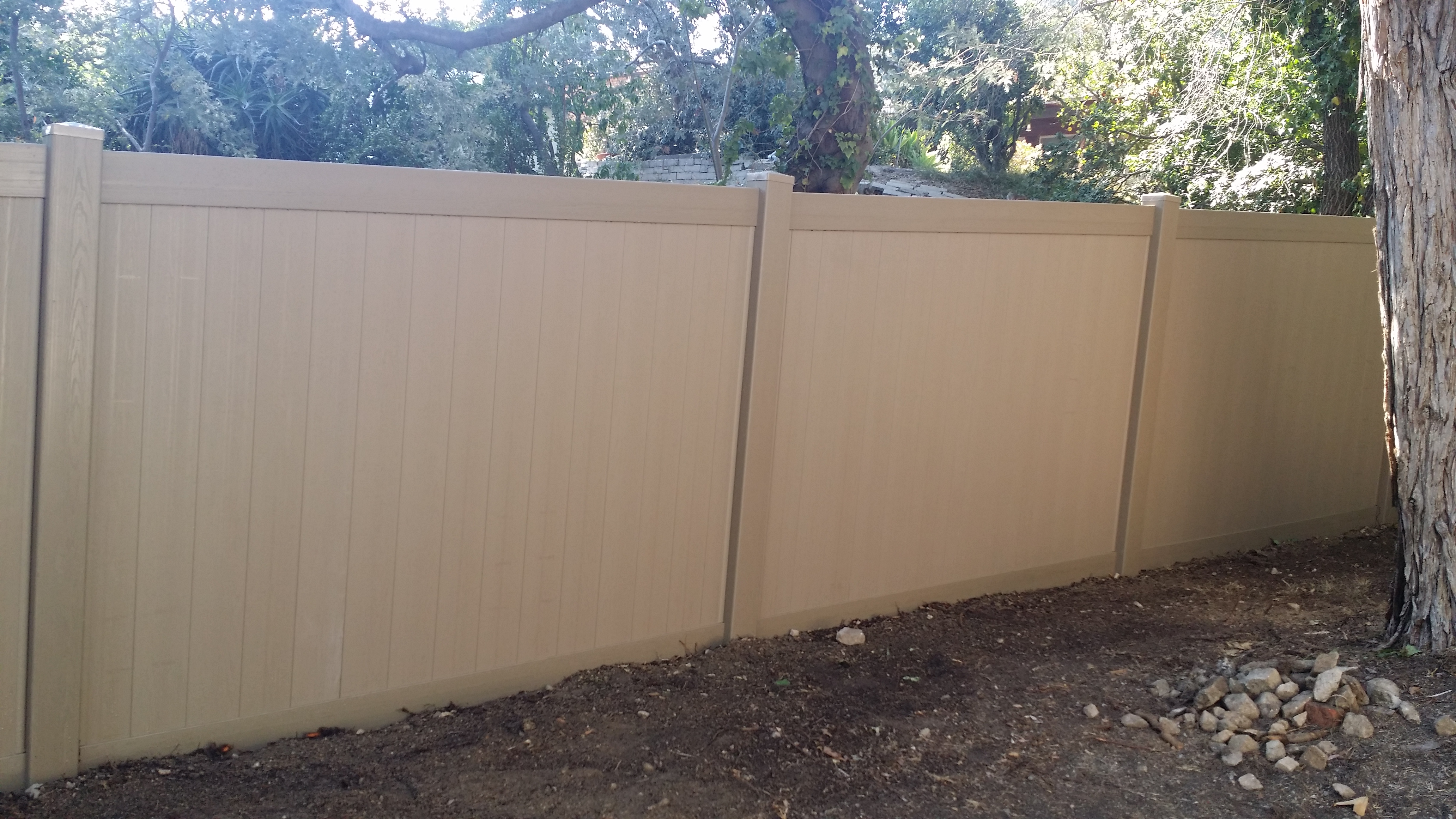 Vinyl Fence Lattice Extension Depending Upon The Top Of